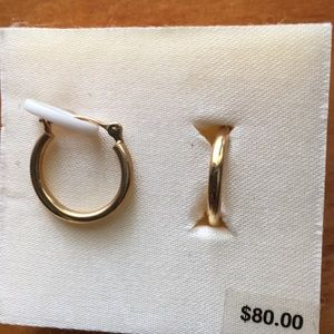 Jewelry - 14K gold hoops